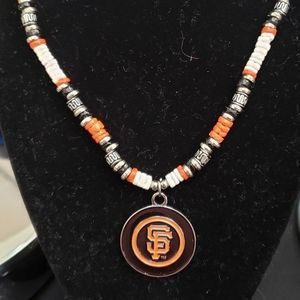 SF Giants Puka Shell Necklace